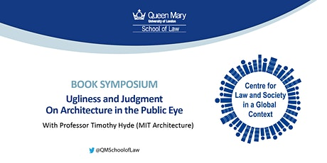 CLSGC Symposium on Timothy Hyde's 'Ugliness and Judgment: On Architecture in the Public Eye' tickets