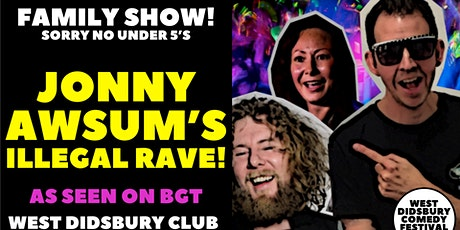 Jonny Awsum's Illegal Rave (For Kids)! tickets