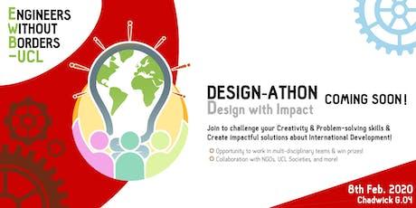 Designathon: Design with Impact tickets