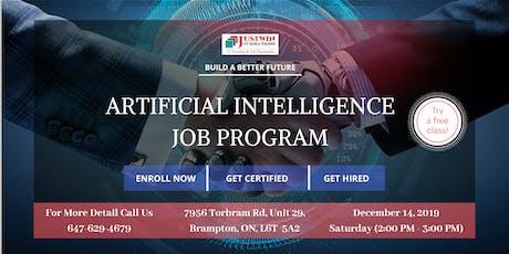 Artificial Intelligence (AI) - Job Program : Free Demo Class tickets