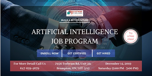 Artificial Intelligence (AI) - Job Program : Free Demo Class