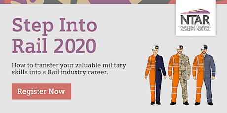 Step Into Rail - Ex-Forces Event 2021 tickets