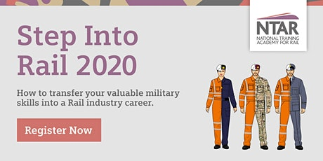 Step Into Rail - Ex-Forces Event 2020 tickets