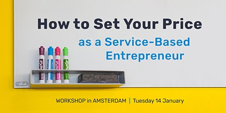 How to Set Your Price as a Service-Based Entrepreneur tickets