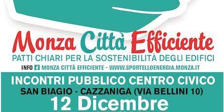 Monza Città Efficiente biglietti