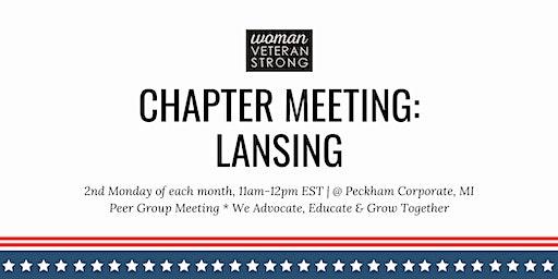 Woman Veteran Strong: Chapter Meeting (Lansing)