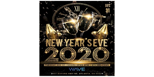 NYE Masquerade Party at Wave Lounge