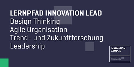 Innovation Campus: Lernpfad - Innovation Lead tickets