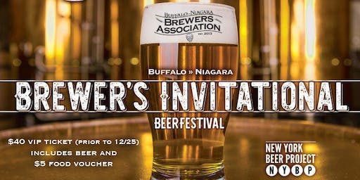 2020 Winter Brewer's Invitational: a VIP Beer Festival