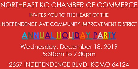 NORTHEAST KC CHAMBER OF COMMERCE ANNUAL HOLIDAY PARTY tickets