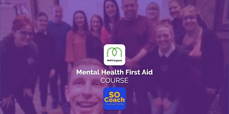 Mental Health First Aid Course in Warrington on the 9th & 10th March tickets