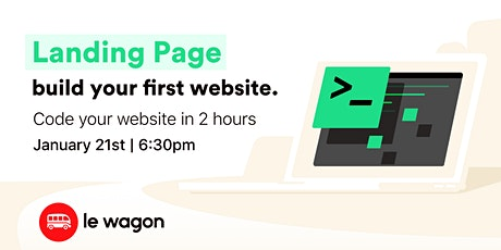 The 2-hour Landing Page tickets