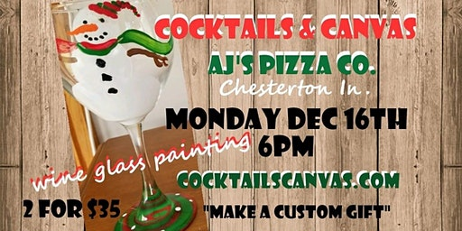 Wine Glass Painting Event