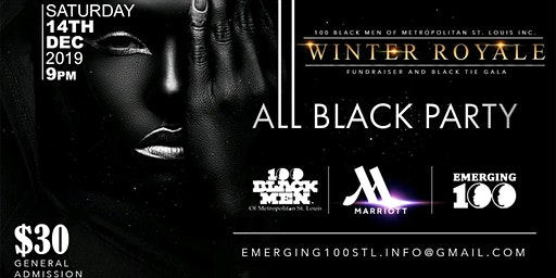 Winter Royale ALL BLACK PARTY