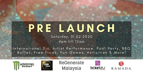 ReGenerate My: Pre Launch Pool Party tickets