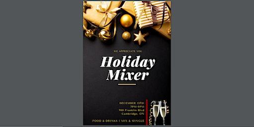 """We Appreciate You!"" Holiday Mixer"