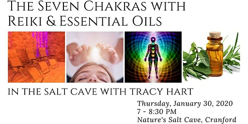 The Seven Chakras with Reiki & Essential Oils with Tracy Hart