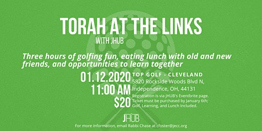 Torah at the Links: jHUB Goes to Top Golf