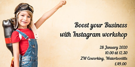 Boost your Business with Instagram workshop tickets