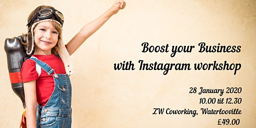 Boost your Business with Instagram workshop