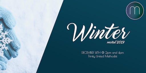 Maitland Winter Recital 2019