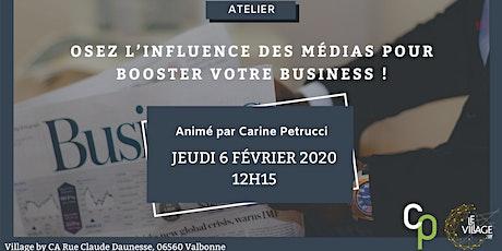 Osez l'influence des médias pour booster votre business! billets