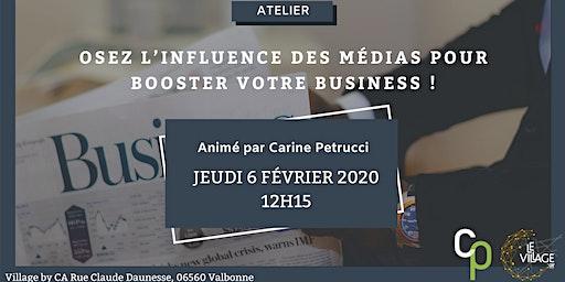 Osez l'influence des médias pour booster votre business!