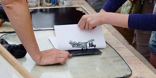 Printmaking - The Crossing, Worksop - Community Learning