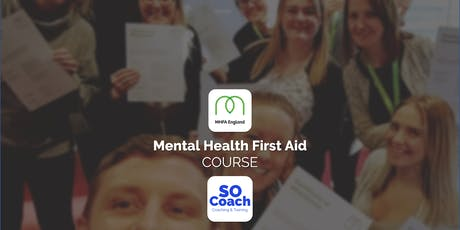 Mental Health First Aid Course in Wigan on the 21st & 22nd April tickets