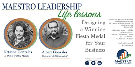 Maestro Life Lesson: Secrets to Growing your Business with Fiesta Medals