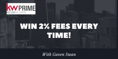 Win 2% Fees Every time! tickets
