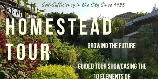 Urban Homestead Tour - January
