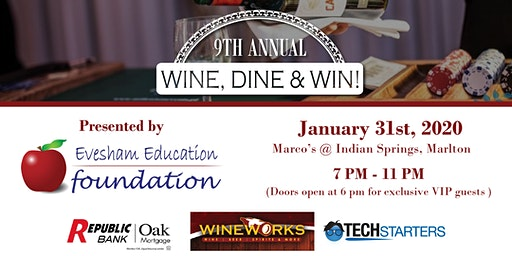 2020 Wine, Dine & Win
