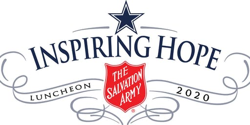 2020 Inspiring Hope Luncheon benefiting The Salvation Army Youth Education Town