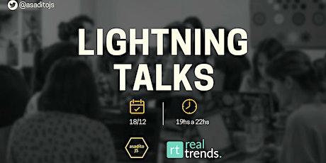 Lightning Talks: 3 charlas que necesitas escuchar entradas