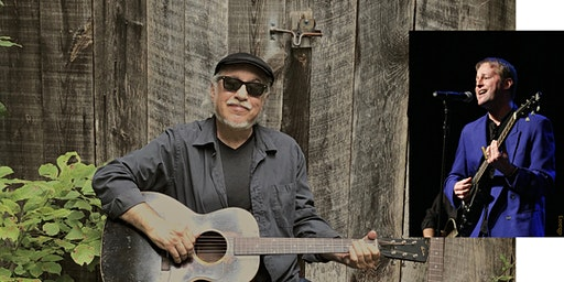 An acoustic evening with Bob Margolin with Special Guest Tad Walters