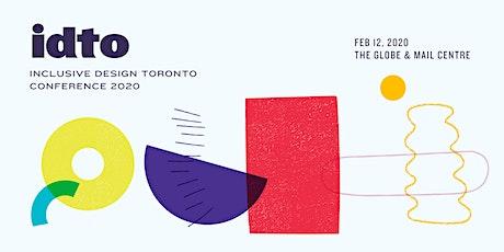Inclusive Design Toronto tickets