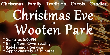 Christmas Eve in the Park tickets