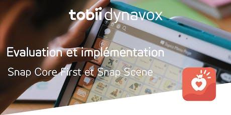 Evaluation et implémentation de Snap Scene ou Snap Core First billets