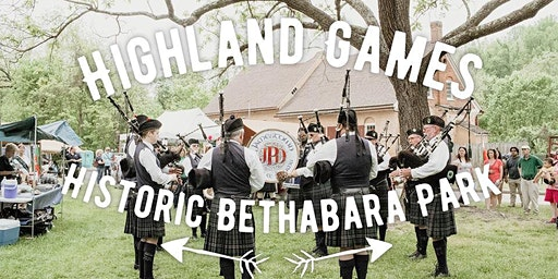 Highland Games!  Come watch and play!  USS Bonaventure