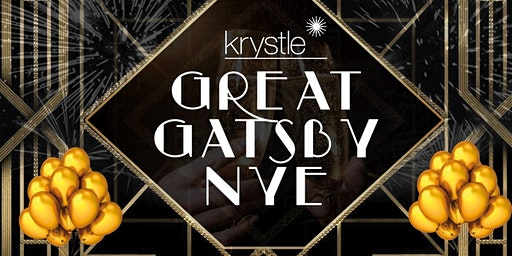 Great Gatsby NYE Party at  Krystle