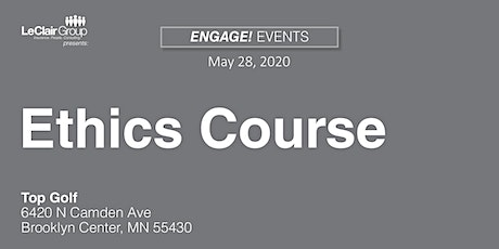 *POSTPONED* 2020 Ethics Course tickets