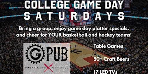 College Game Day Saturdays at GPub