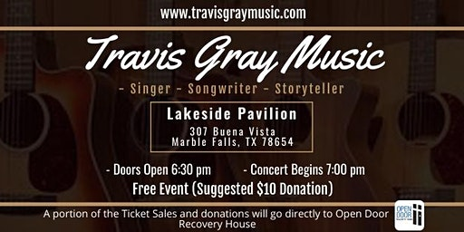 Travis Gray Music Live Event