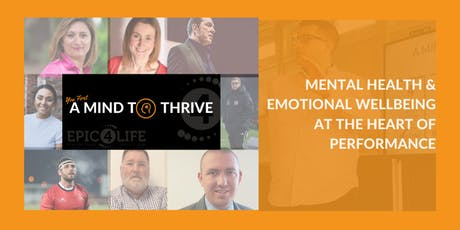 EPIC 4LIFE - A Mind To Thrive tickets