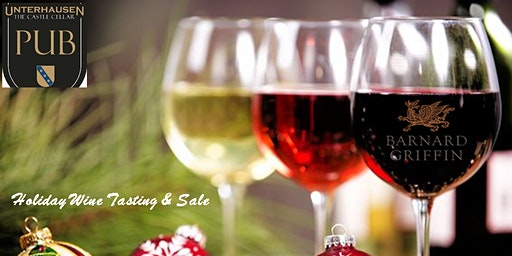 Holiday Wine Tasting and Sale
