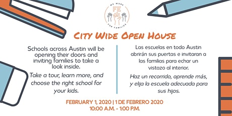 Austin City Wide Open House tickets