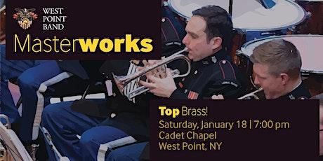 Top Brass! - West Point Band Masterworks Concert Series tickets