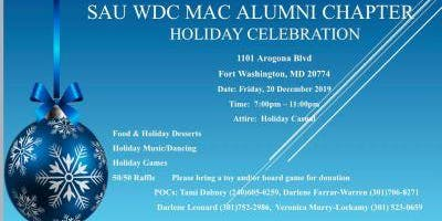 SAU Washington DC Alumni Chapter Christmas Holiday Party