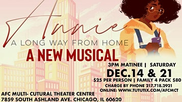 """Annie: A Long Way From Home"""" A New Musical"""""""